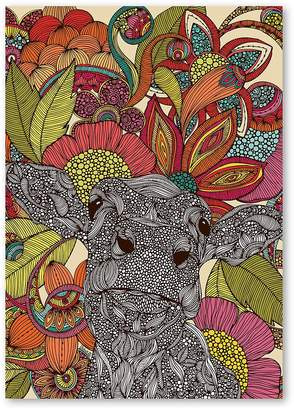 Arabella Americanflat And The Flowers Print Art, Print Only
