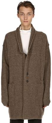 Isabel Benenato Raw Cut Merino & Yak Wool Coat