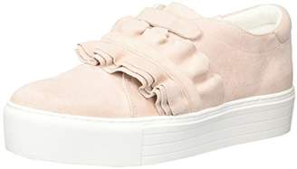 Kenneth Cole New York Women's Ashlee Platform Sneaker with Ruffle Detail