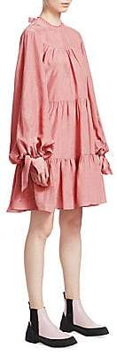 3.1 Phillip Lim Women's Oversized Tiered Gathered Dress