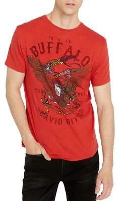 Buffalo David Bitton Tiblu Eagle-Print Crewneck Tee