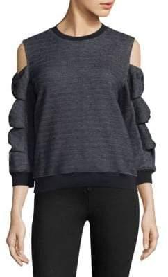 Prose & Poetry Millie Bow Sleeve Sweatshirt