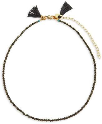 Shashi Women's Lola 18K Gold-Plated Beaded Choker Necklace