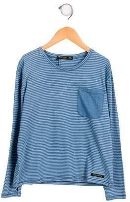 Finger In The Nose Girls' Striped Long Sleeve Top w/ Tags