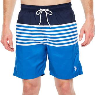 U.S. Polo Assn. Stripe Swim Shorts