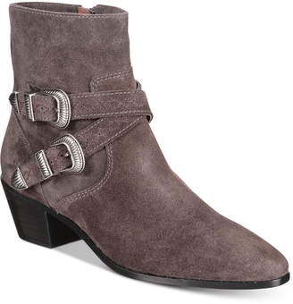 Frye Women's Ellen Buckle Short Boots Women's Shoes