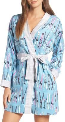 Munki Munki Flannel Short Robe