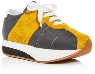 Marni Women's Bigfoot Platform Low-Top Sneakers