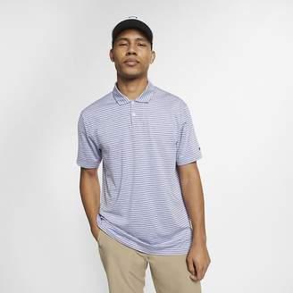 Nike Dri-FIT TW Vapor Men's Striped Golf Polo