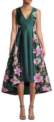 Eliza J Floral High-Low Gown