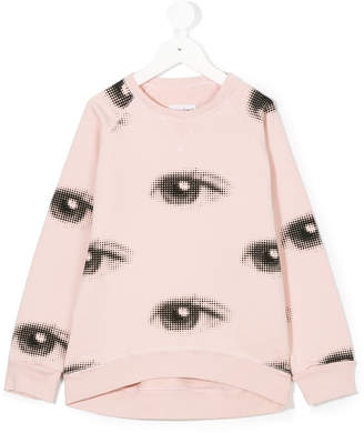 Nununu eye print sweatshirt