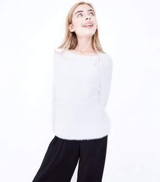 New Look Teens Cream Faux Angora Jumper