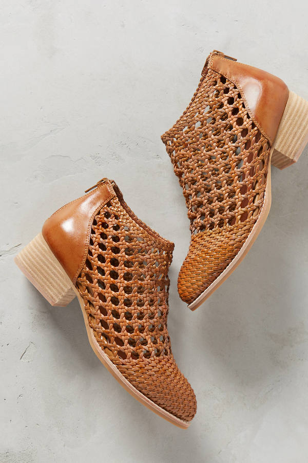Jeffrey Campbell Jeffrey Campbell Basket Weave Booties