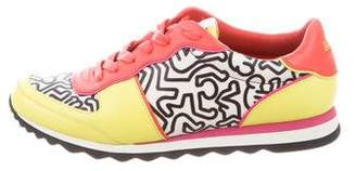 Rodarte Coach x Leather Low-Top Sneakers