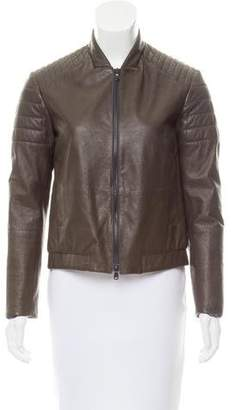 Brunello Cucinelli Quilted Leather Jacket