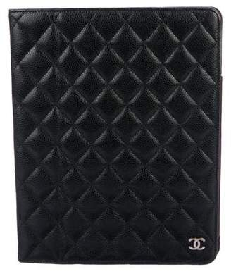 Chanel Caviar iPad Case