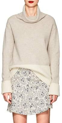 Derek Lam 10 Crosby Women's Colorblocked Wool-Blend Turtleneck Sweater