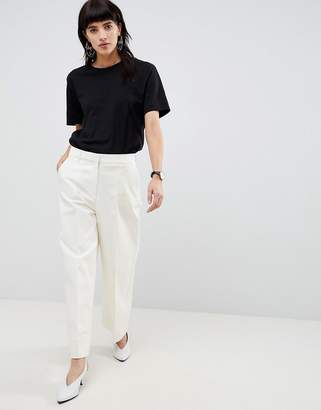 Selected Wide Legged Cropped PANTS