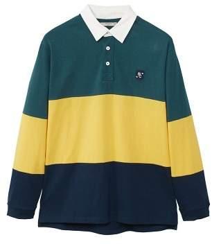 Mango man MANGO MAN Contrasting stripes cotton polo shirt