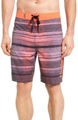 Men's Hurley Phantom Sanbar Recycled Board Shorts $55 thestylecure.com