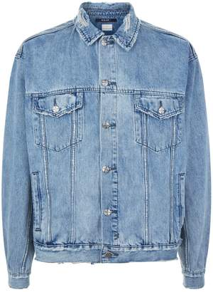 Ksubi Distressed Denim Jacket