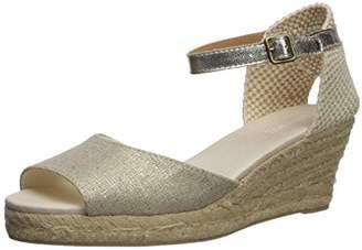Soludos Women's Open-Toe midwedge (70mm) Espadrille Wedge Sandal,10 Regular US