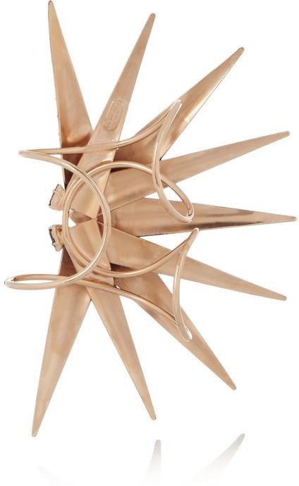 Swarovski VICKISARGE Burma rose gold-plated crystal cuff
