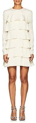 Valentino Women's Silk Crepe Tiered Minidress