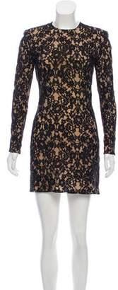 Balmain Structured Lace Dress