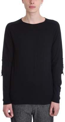 Damir Doma Black Wool Sweater