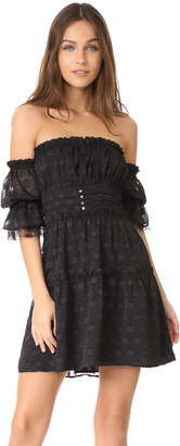 For Love & Lemons Modern Love Off Shoulder Dress $241 thestylecure.com