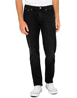 Paul Smith Tapered Fit Washed Stretch Denim Jean