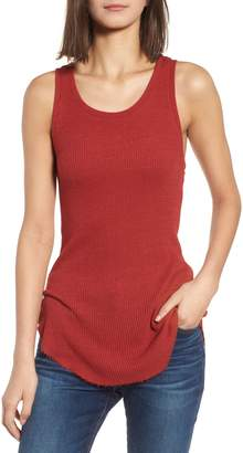 AG Jeans Coraline Ribbed Tank