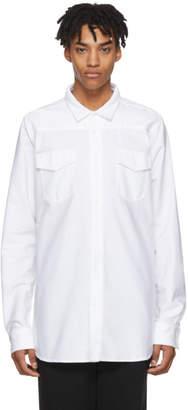 Off-White White Firetape Shirt