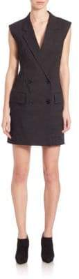 DKNY Double Breasted Short Romper