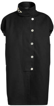 Raf Simons Sleveless Couture Cotton Coat