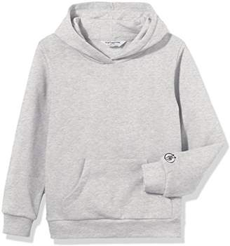Kid Nation Kids' Solid Fleece Hooded Pullover Sweatshirt for Boys Or Girls M