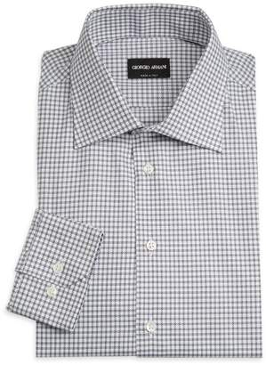 Micro-Box Dress Shirt