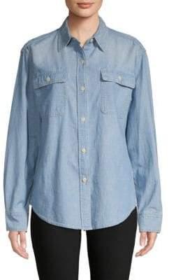 Vince Long-Sleeve Button-Down Shirt