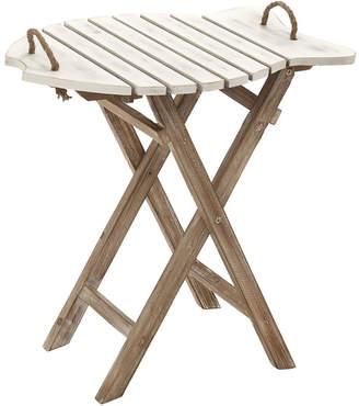 UMA Enterprises Wood Folding Table