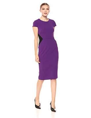Donna Morgan Women's Cap Sleeve Sheath Dress