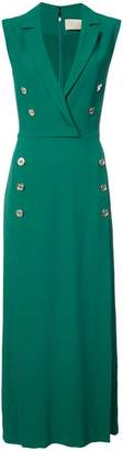 Elie Saab sleeveless shirt dress