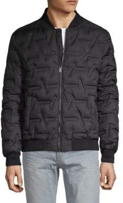 Karl Lagerfeld Classic Quilted Down Jacket