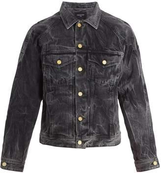 Fear Of God Holy Water denim trucker jacket