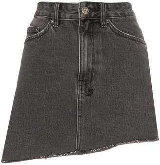 96fbe5968a Ksubi asymmetric hem mini skirt