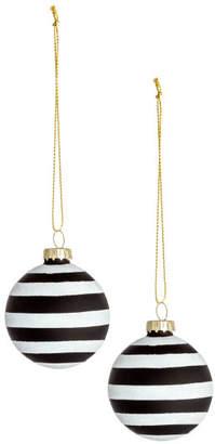 H&M 2-pack Christmas Ornaments - Black