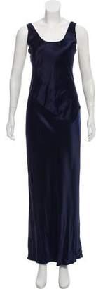 Calvin Klein Collection Silk Maxi Dress