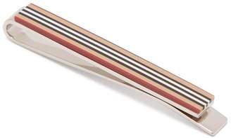 Burberry Heritage stripe tie pin