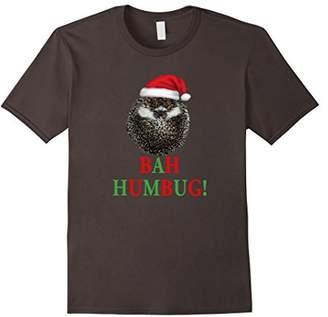 Hedgehog Christmas Shirt: Bah Humbug Grumpy Hedgehog Funny