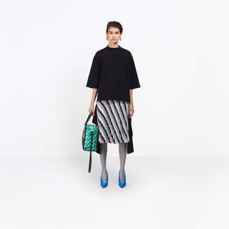Balenciaga Oversize sweatshirt with cut tail effect